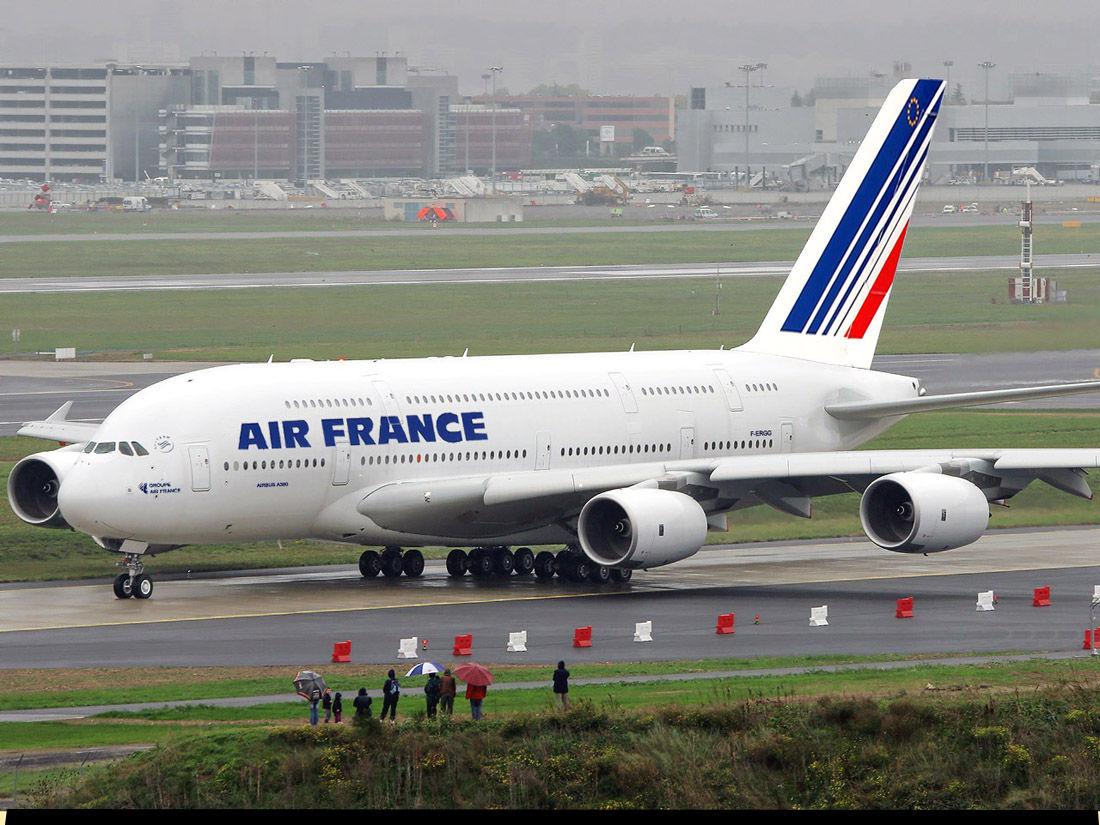 Dans les coulisses de la maintenance de l'A380 par Air France