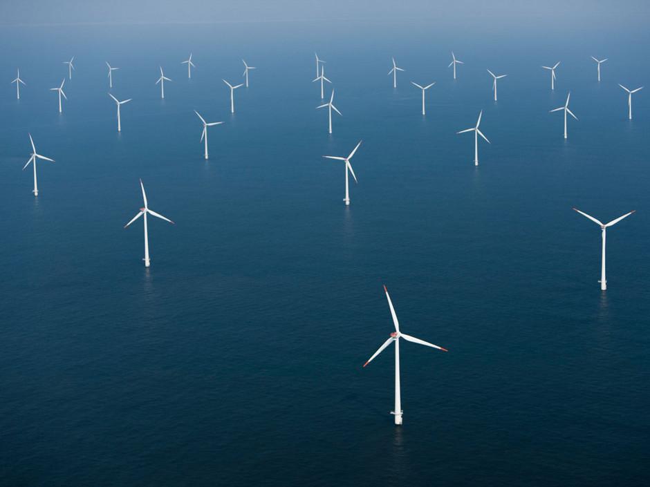 Deux ferme éolienne de 500 MW projetés par un consortium GDF-EDP