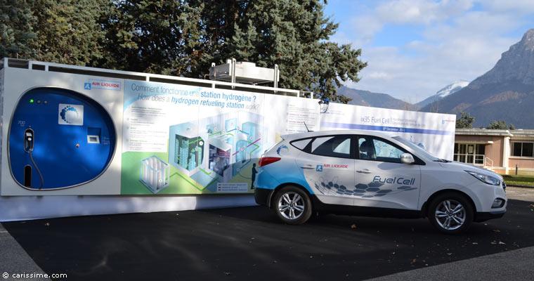 Air Liquide et Hyundai lancent la voiture à hydrogène de série en France