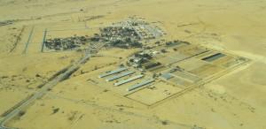 Vue aérienne d'Ashalim
