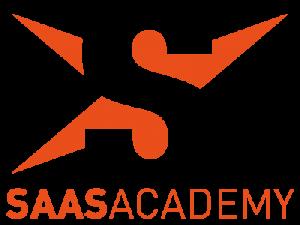 Le logo de la SaaS Academy joue volontier avec les codes de la quasi-homonyme et célèbre émission de télé-crochet.