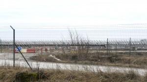 La centrale de Toul Rosière,  ici en construction en 2013, restera la plus importante de France jusqu'à la livraison de celle de Cestas