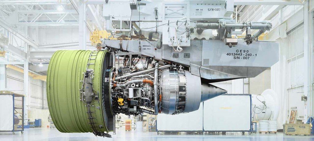Turbine GE90 de General Electric