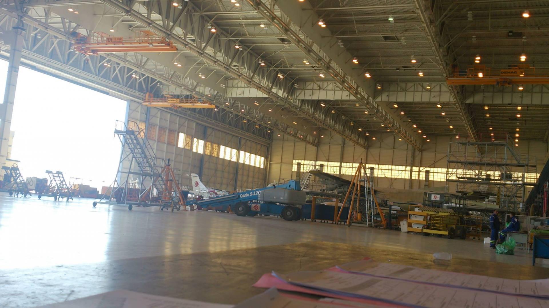 Visite dans les coulisses de la base de maintenance d'Air Algérie