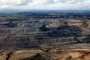 Les mines de charbon à ciel ouvert, comme ici à Hunter Valley en Australie, connaissent encore un essor.