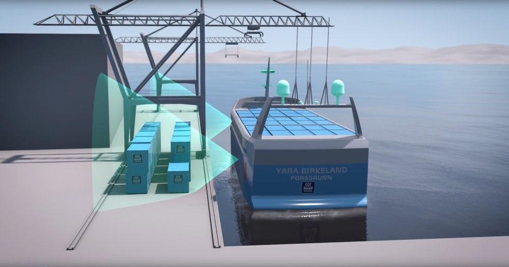 Norvège : un cargo électrique pour soulager la route des camions